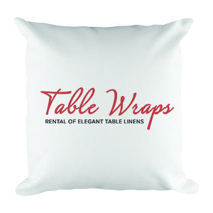 Custom Screen Printed Pillows