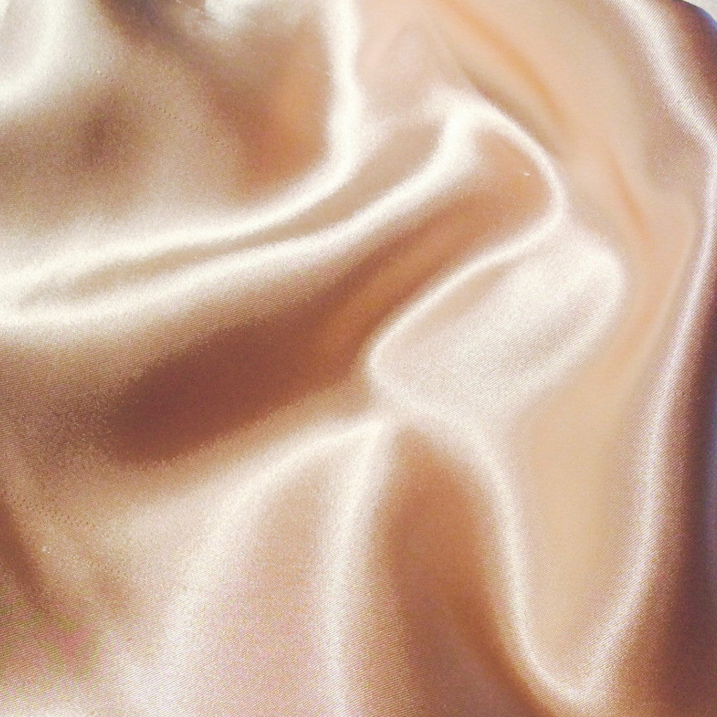Dusty Peach Satin