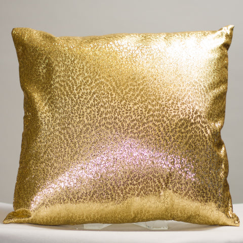 Gold Metallic Pillow