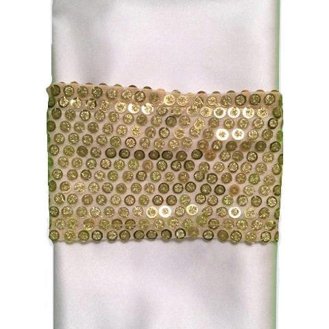 Gold Sparkler Napkin Band