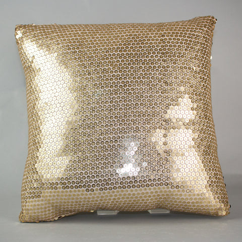 Gold Sparkler Pillow