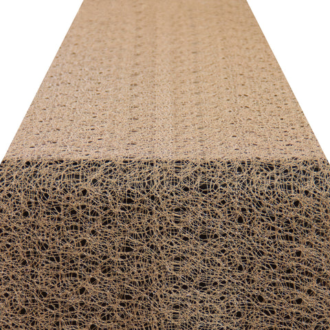 Gold Spun Lace Runner