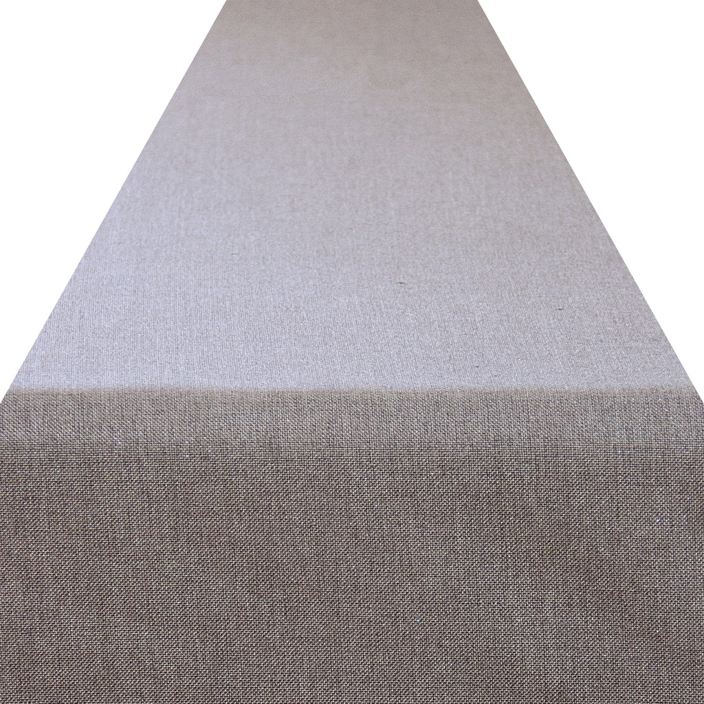 Grey Linen Sparkle Runner