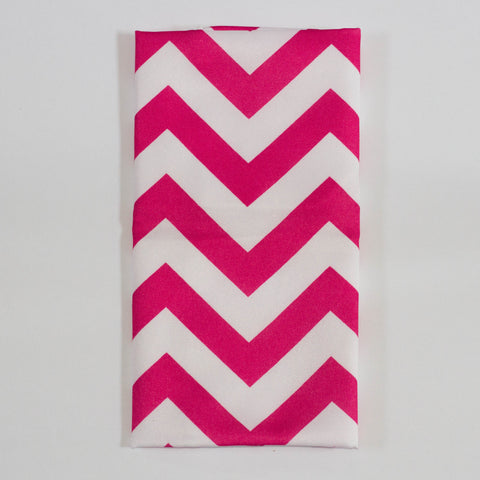 Hot Pink Chevron Napkin