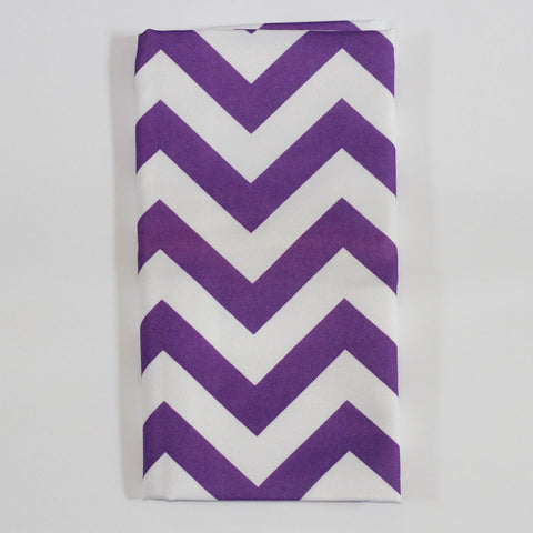 Purple Chevron Napkin