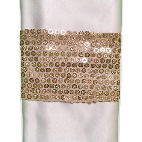 Rose Gold Sparkler Napkin Band