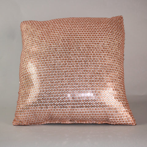 Rose Gold Sparkler Pillow