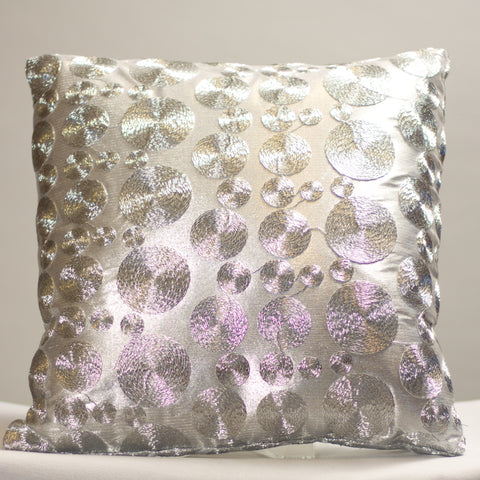Silver Coins Pillow
