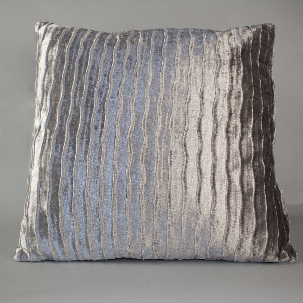 Velvet Wave Pillow