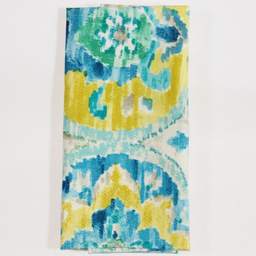 Watercolor Blues Napkin