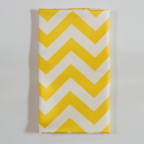 Yellow Chevron Napkin