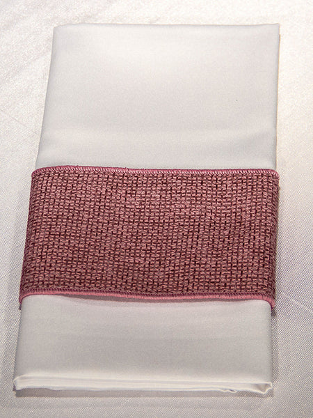 Berry Jute Napkin Band