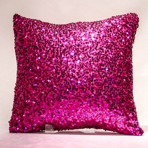 Berry Mini Sequins Pillow