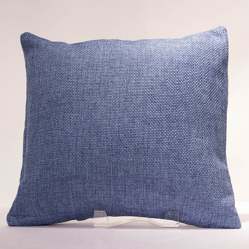 Blue Jute Pillow