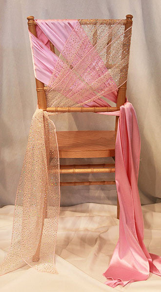 Criss Cross Chair Sash