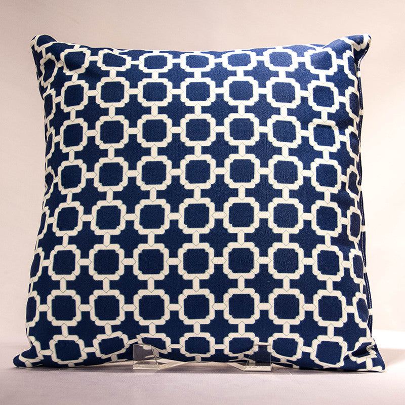 Gates Navy Pillow