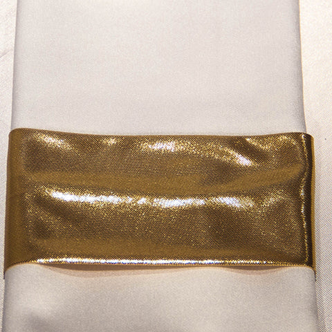 Gold Foil Napkin Band