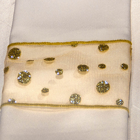 Gold Hots Napkin Band