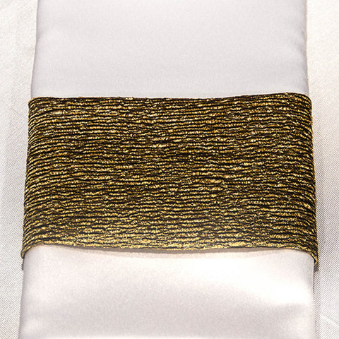 Gold Luster Napkin Band
