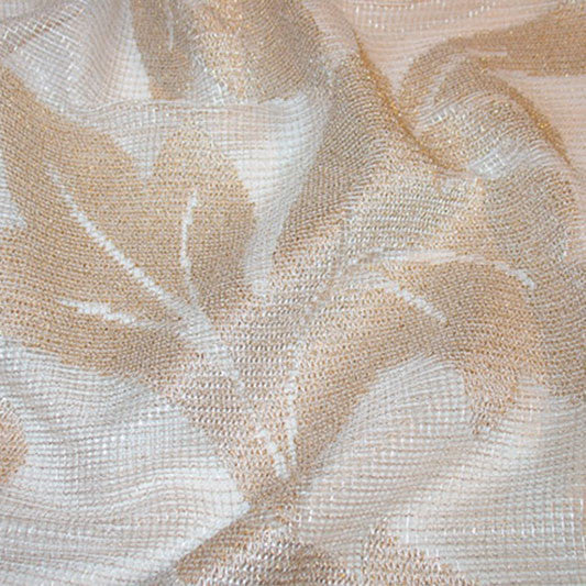 Gold Mesh Leaves