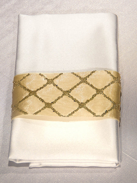 Golden Caviar Napkin Band