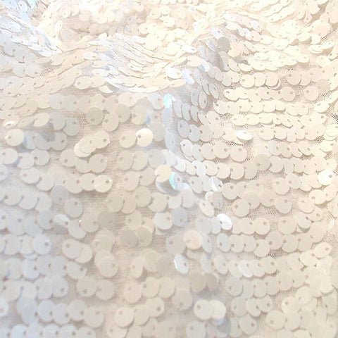 Mini Paillettes White