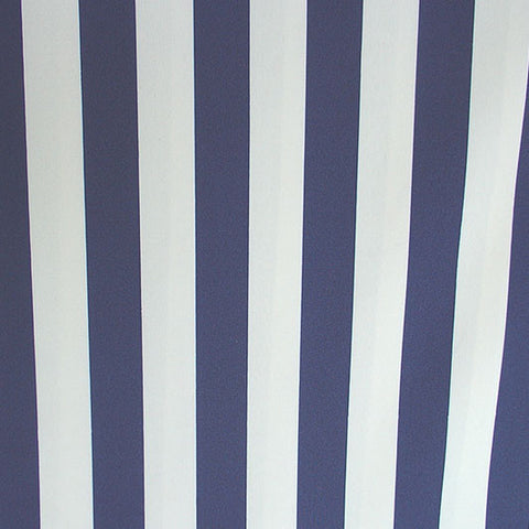 Navy White Stripe