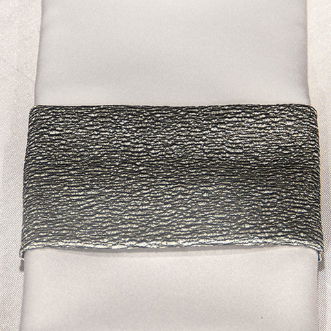 Silver Luster Napkin Band