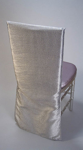Silver Luster Chair Cover