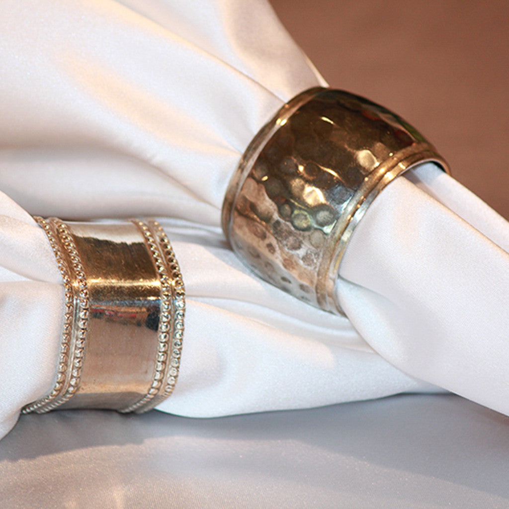 Sterling Silver Napkin Band
