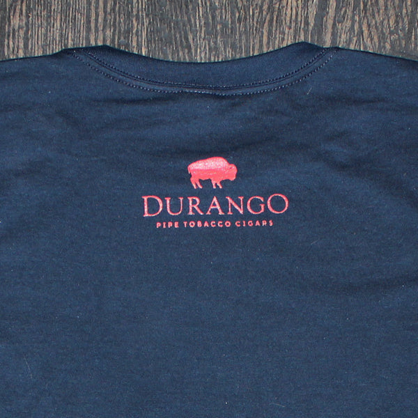 Durango Buffalo Tee (Navy/Red)