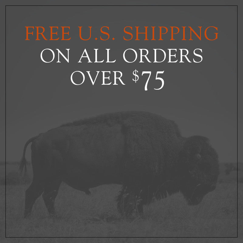 Free U.S. Shipping On All Orders Over $75