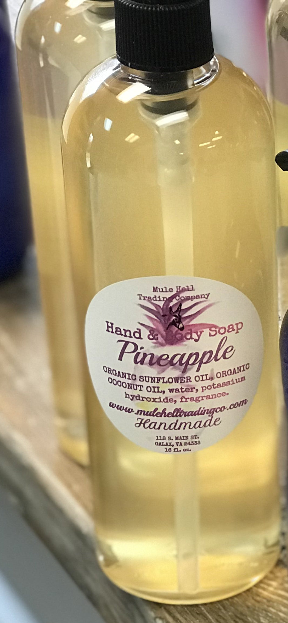 Pineapple Liquid Soap MH