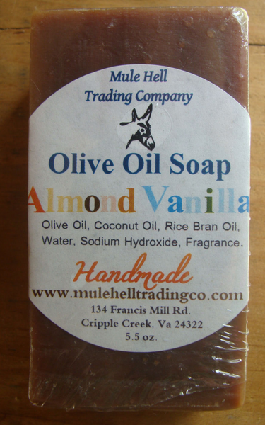 MH Almond Vanilla Bar Soap