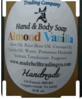 MH Almond Vanilla Liquid Soap