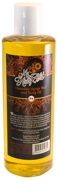Chocolate Syrup Hair and Body Oil