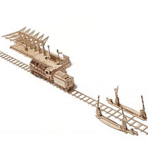 BUNDLE SET - LOCOMOTIVE + PLATFORM + RAIL