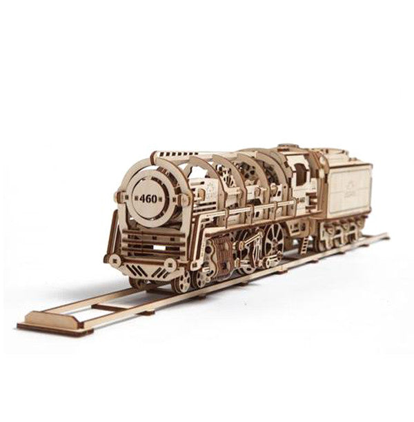 UGEARS STEAM LOCOMOTIVE WITH TENDER