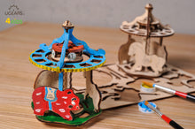 UGEARS 4KIDS COLORING MODELS