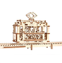 UGEARS TRAM ON RAILS