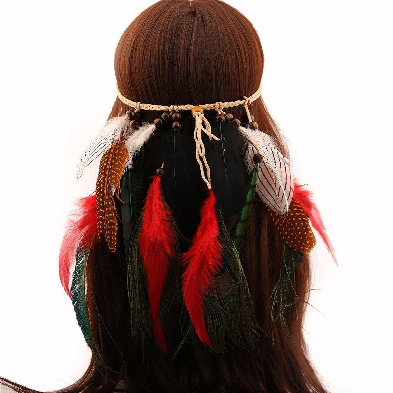 Fire Feathers Headband (2 Colors)