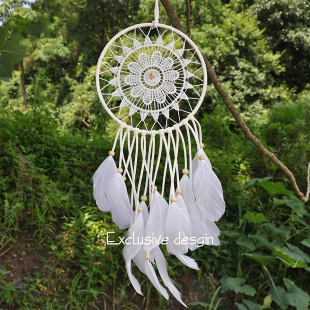 Flower Mandala Dreamcatcher