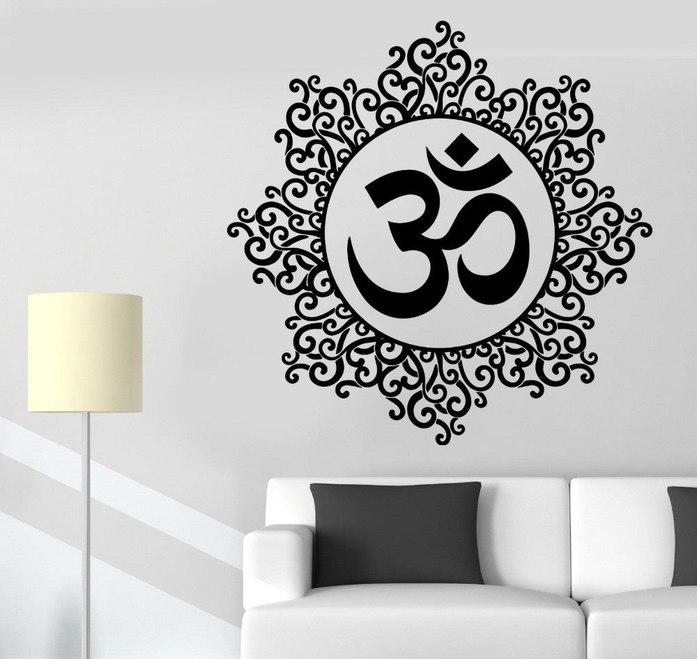 Om Tribal Wall Sticker (11 Colors)