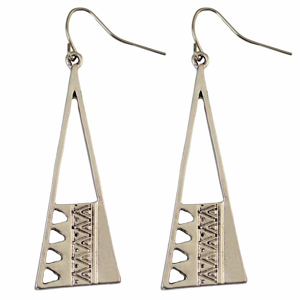 Camila Geometric Tribal Earrings