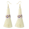 Tipi Dropdown Ethnic Earrings