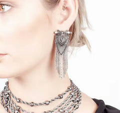 Queen Of All Everything Ethnic Earrings