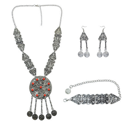 Pushkar 4 Ways Set Necklace/Earrings/Bracelet
