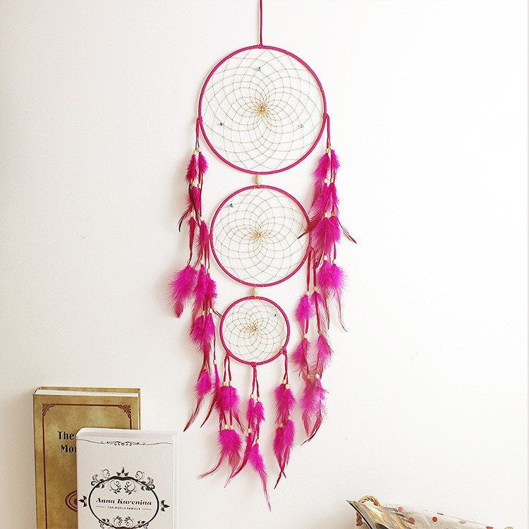 Triple Large Dreamcatcher (4 Colors)