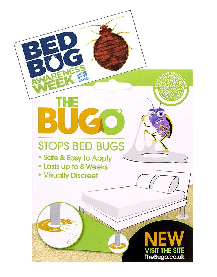 The Bugo is on board with Bed Bug Awareness Week