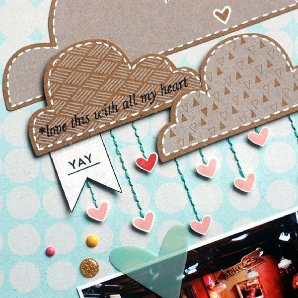 Scrapbook Glue Dots - 96 x thin, permanent dots on perforated sheets